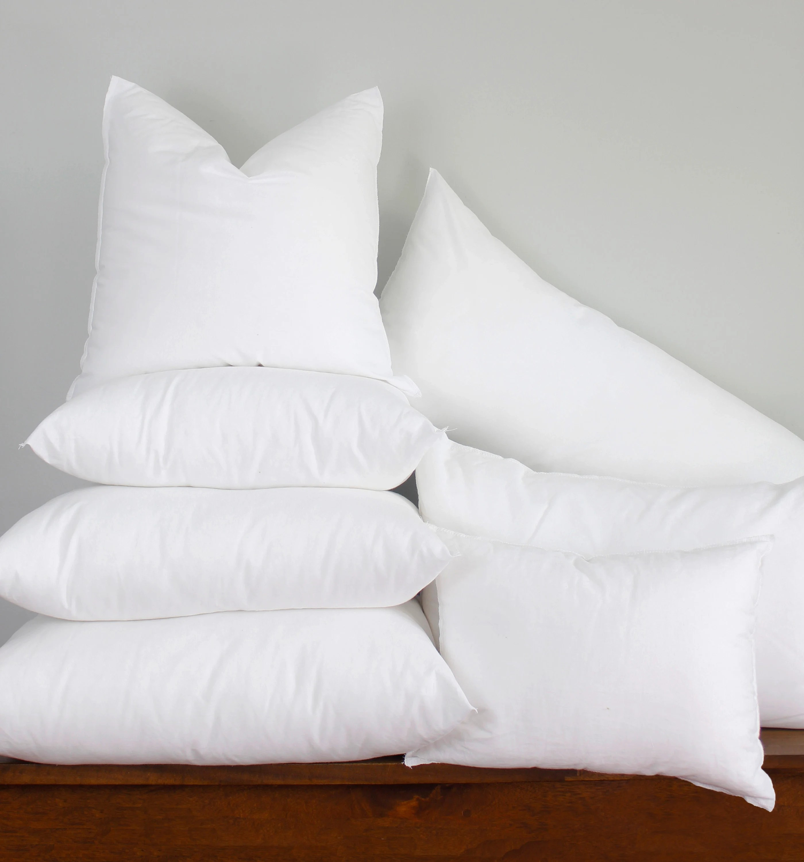 21x27 synthetic down pillow form insert