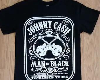 Download Johnny cash t shirt | Etsy