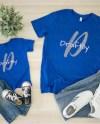 Bella Canvas 3001 T Shirt Mockup True Royal Unisex T Shirt Etsy