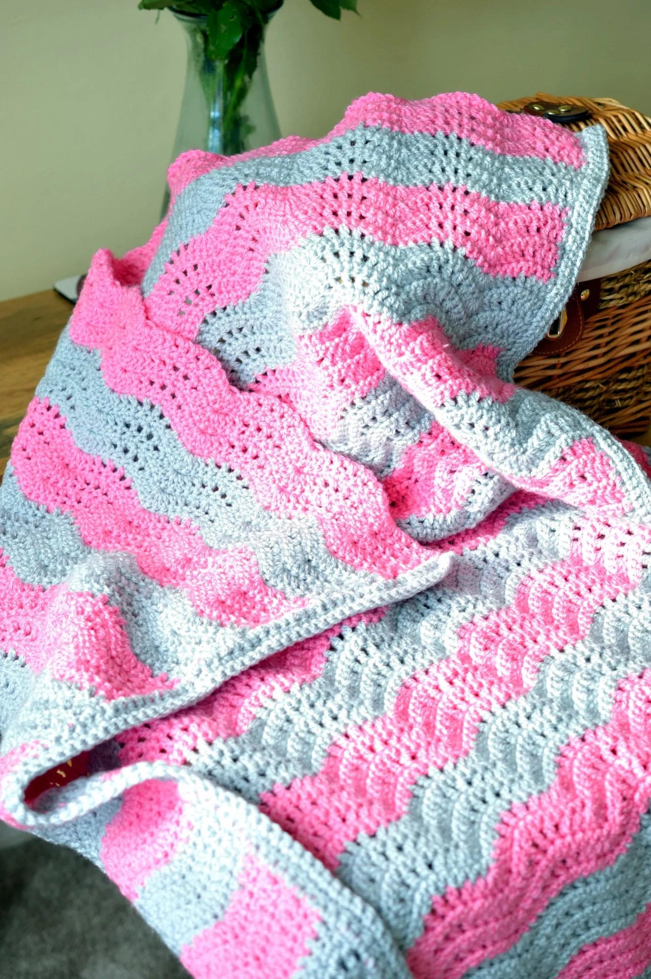 Crochet Blanket, Home Dec...