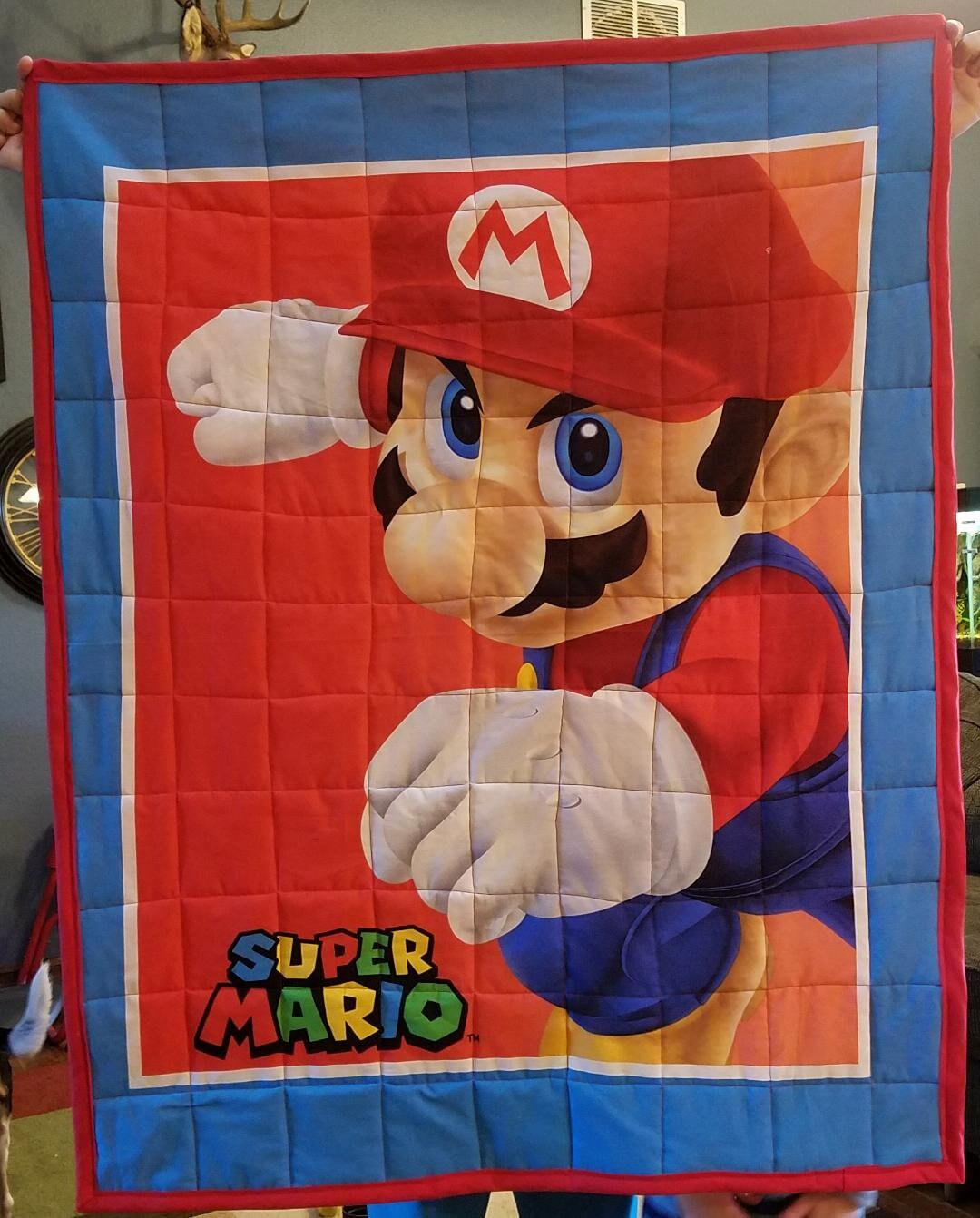 Install the latest offline installer version of old super mario bros for windows pc / laptop. Quilt Mario Bros Etsy