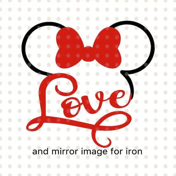 Download Disney svg love disney svg love minnie svg love minnie | Etsy