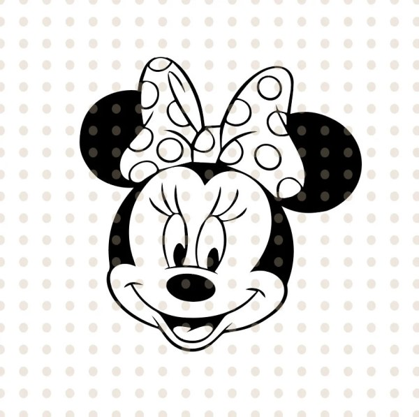 minnie mouse vector # 47