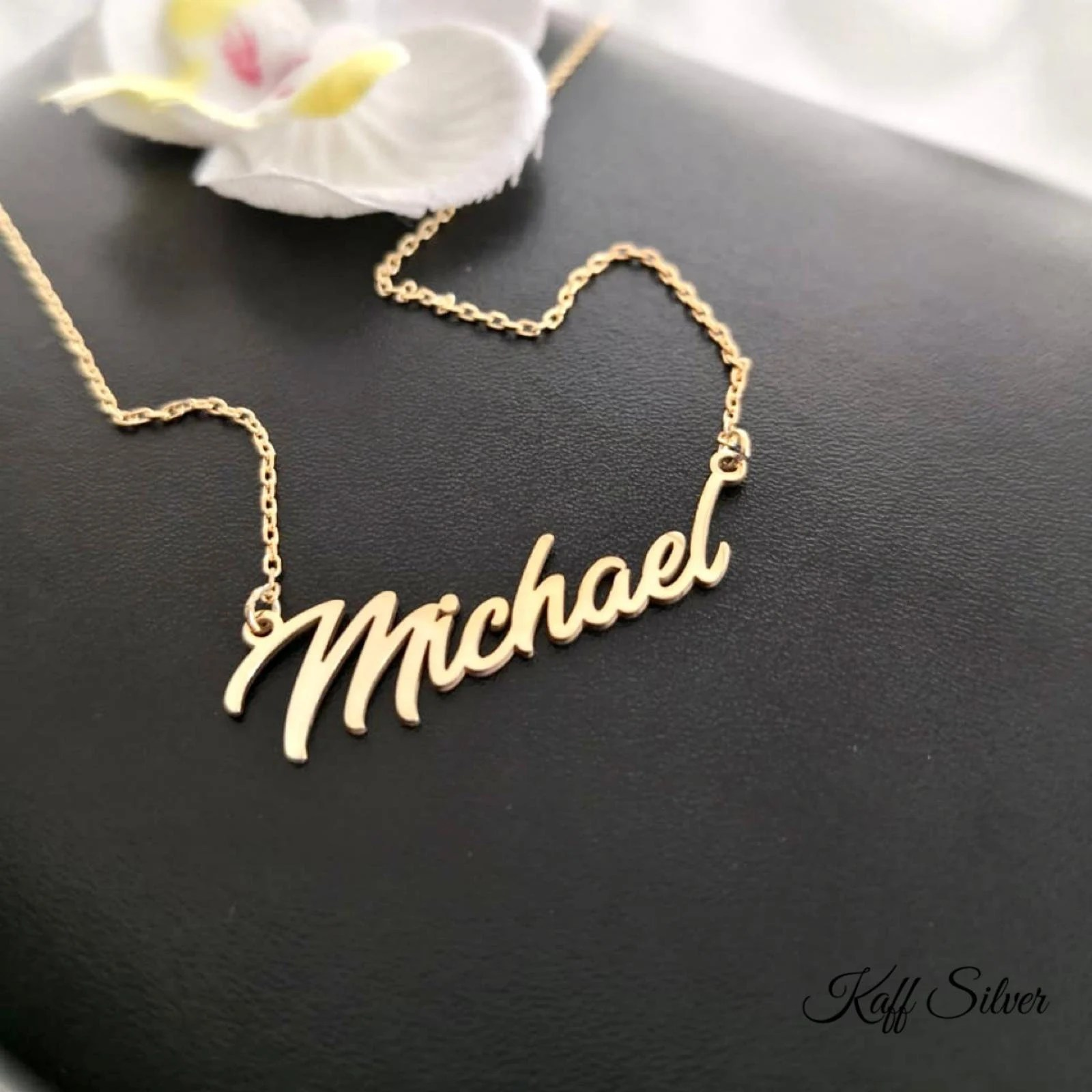 Silver Name Necklace Personalized Name Necklace Custom Name image 7