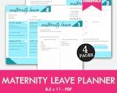 Maternity Leave Planner, Pregnancy, Instant Printable, Unlimited Prints, ARC System, Binder Planner