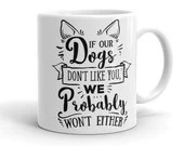 Dog Mug, Dog Lovers Gift, Funny Mugs, Rescue Dogs, Dog Gift Ideas, Gifts for Dog Moms