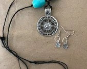 Mother Earth Necklace Earring Set