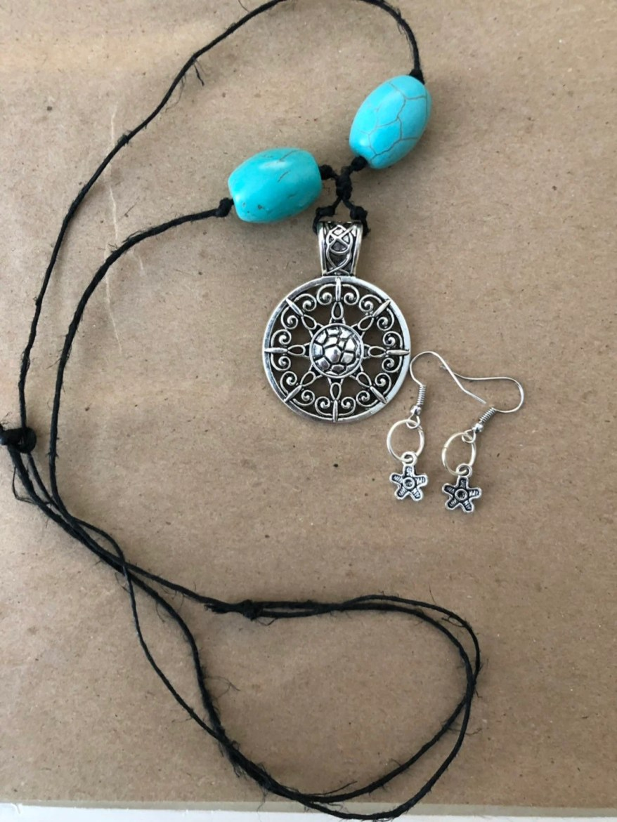 Mother Earth Necklace Ear...