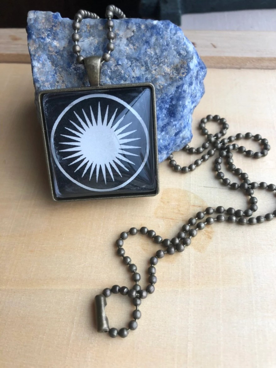 Sacred Sun Necklace...