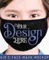 Digital Download Everyday Mask Mockup Black Mask Mockup Etsy