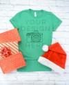Bella Canvas 3001 Tshirt Mockup Heather Kelly Christmas Etsy