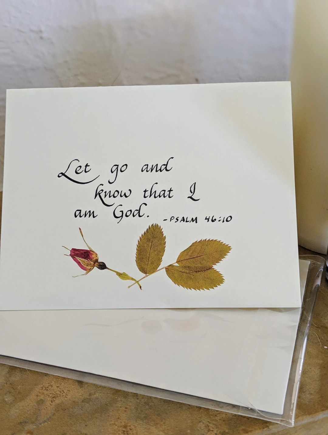 Christian greeting cards/ Thinking of you cards/ Christian note cards/ calligraphy greeting cards/care and comfort cards/Christian greeting