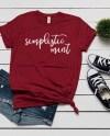 Bella Canvas 3001 Cardinal T Shirt Mockup Shirt Flat Lay Etsy