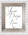Mockup Classy Modern Frame Prop For 11 X 14 Stock Styled Etsy