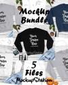 Fall Sweatshirt Mockup Bundle Gildan 18000 Crewneck Sweat Etsy