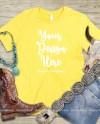 Western Bella Canvas 3001 Tshirt Mockup Southern Yellow Shirt Etsy