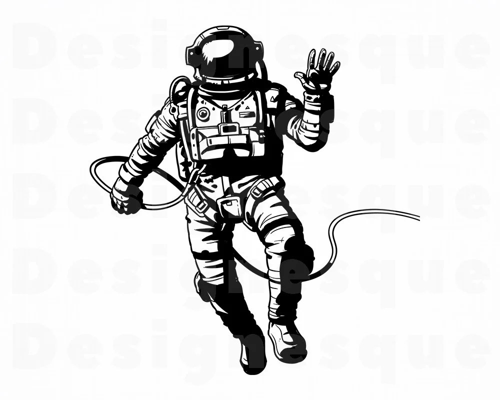 Astronaut Cricut Etsy