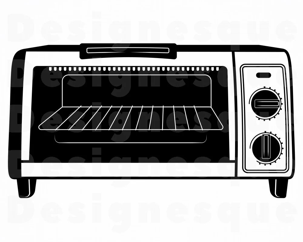 toaster oven 2 svg kitchen svg toaster oven clipart toaster oven files for cricut cut files for silhouette dxf png eps vector