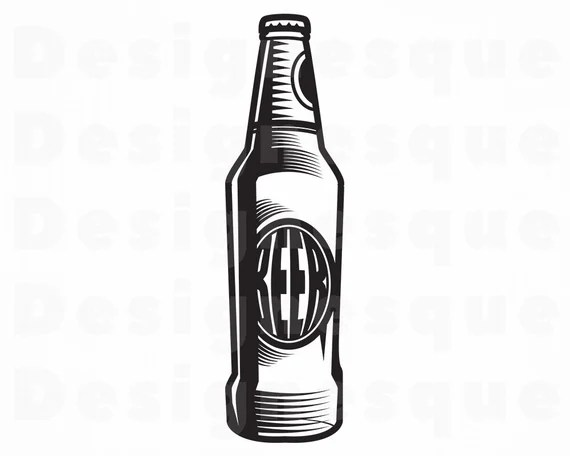 Download Beer 7 SVG Beer SVG Beer Bottle SVG Beer Clipart Beer   Etsy