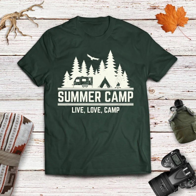 Download Summer Camp Live Love Camp SVG Cut Files Camping Digital ...