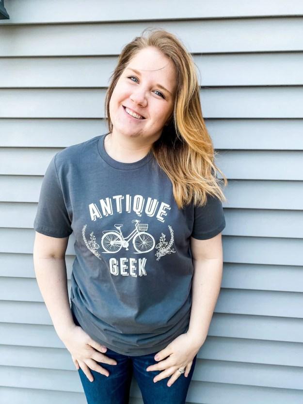 ANTIQUE GEEK Antique Shirt Graphic Tee Antique Junkie image 0