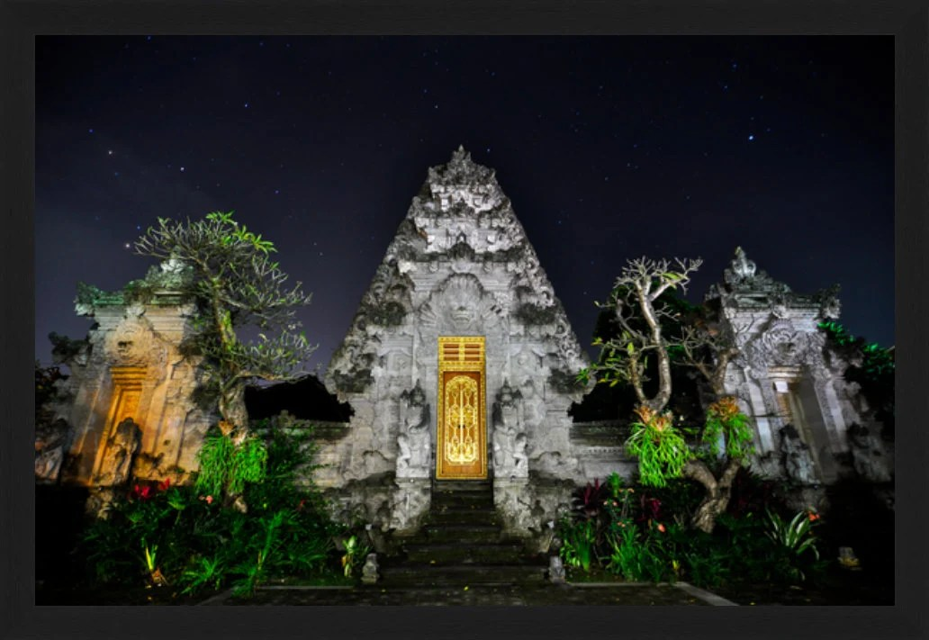 Temple Under the Stars - ...