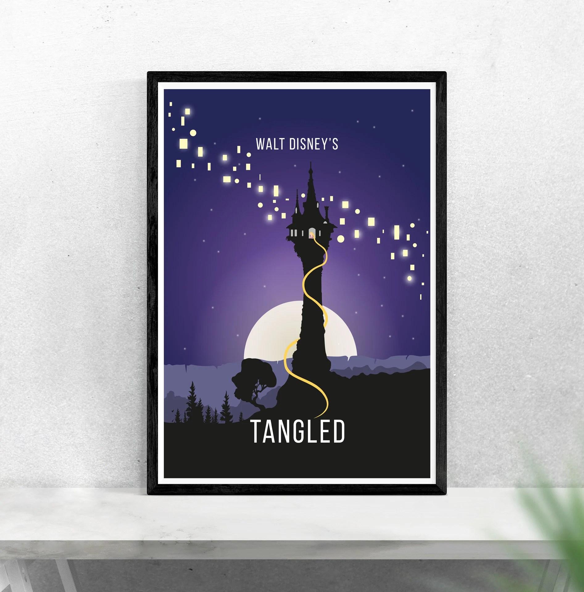 disney tangled rapunzel animation