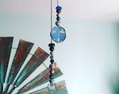 Ceiling Fan Extension Pull Chains | Handmade | Beaded | Shabby Chic | Blue | Purple | Coastal | Gifts for Her | Housewarming | Decor