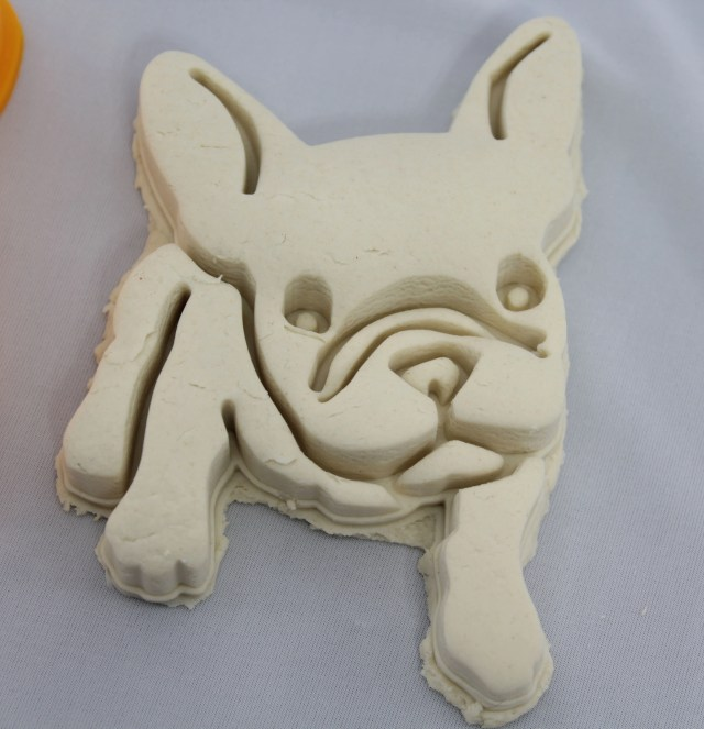french bulldog full body custom 3d printed cookie cutter stamp fondant doh  salt dough dishwasher safe birthday party favor puppy dog animal