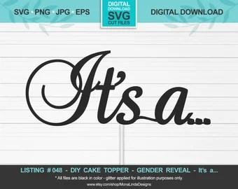 Download Gender reveal svg   Etsy