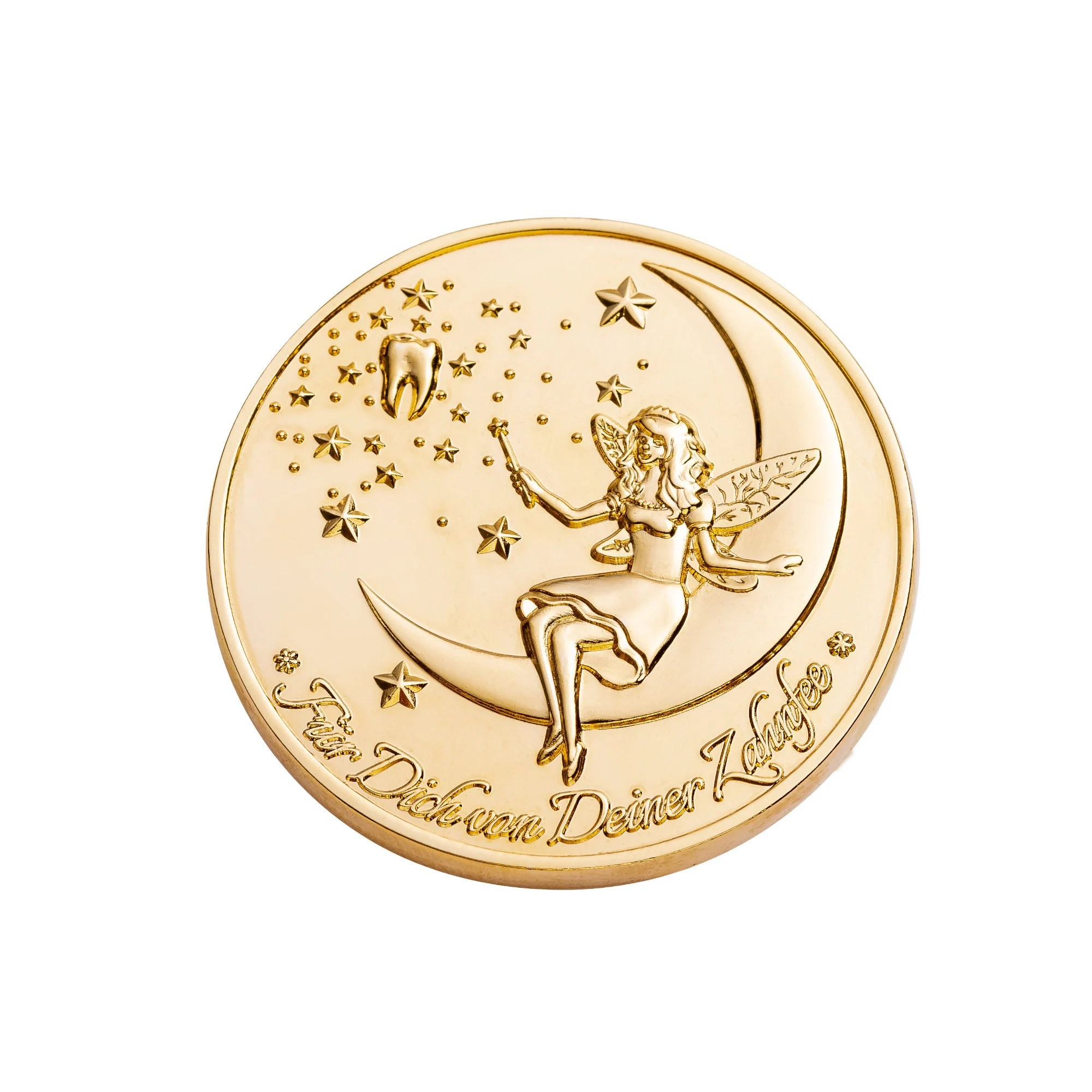 Tooth Fairy Coins Designer Set 1 goldplated image 4