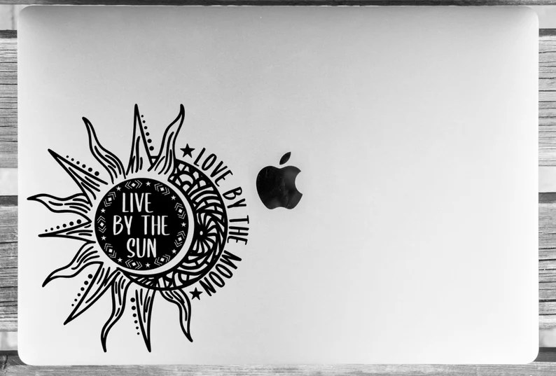 Download Live By the Sun Love By the Moon Vinyl Decal Vinyl Sticker ...