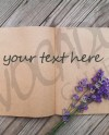 Styled Stock Photo Notebook Lavender Styled Mockup Product Etsy