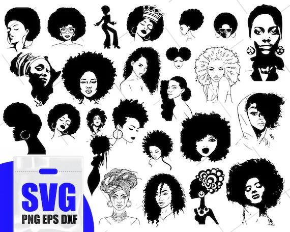 Bangs Girl Art Hair Clip