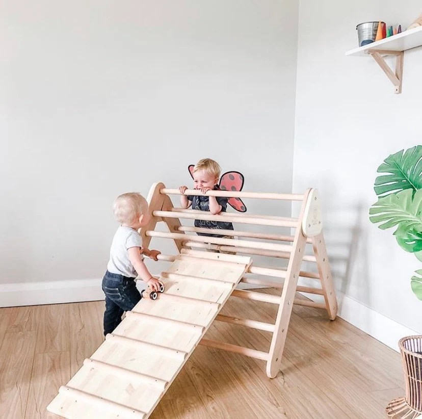 Reversible Pikler Ramp only ladder and slide or climbing wall image 4