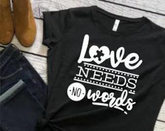 Download Love needs no words   Etsy