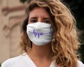 "Lupus Mask: ""Hope"" Snug-Fit Polyester Face Mask"
