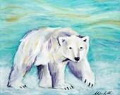 Art Print - Polar Bear