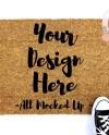 18 X 30 Coir Door Mat Doormat Mock Up Mockup Image Flat Lay Etsy