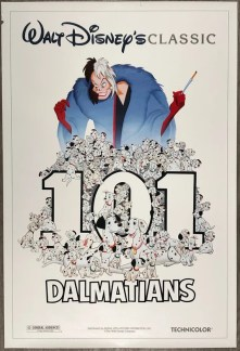 101 Dalmatians 1991 Movie Poster Double Sided Original | Etsy