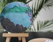 Sandy Beach Coasters, Kauai Sand Coasters, Table Coasters,  Tile Sandstone, Stone Coasters,  Sandstone Coasters, Coaster Set