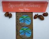 Custom Car Coasters - Kauai Glass Palm Mixed Media Car Sandstone Car Coaster