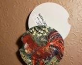 Custom Car Coasters - Rooster