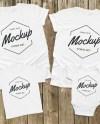 Family Shirt Mock Ups Matching Family Blank White Shirt Etsy