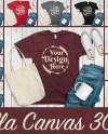 Bundle 12 Mockups Bella Canvas 3001 Unisex Tshirt Tote Bag Etsy