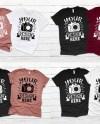 Matching Family 3 Black Shirts Mockup Unisex Women Kid Etsy