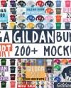 Huge Bundle T Shirt Mockup Mega Bundle Gildan 5000 2000 Etsy