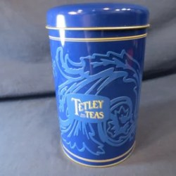 Tea Tin Can Etsy
