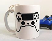 Vinyl decal or video game controller cup, sticker, vinyl to install on several sort of smooth surface