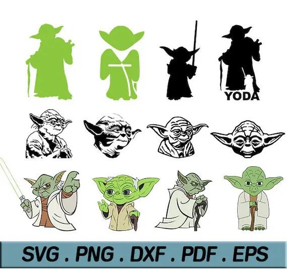 Yoda Vector File - Vecteur i